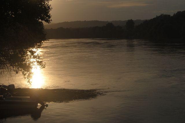 Abendstimmung am Ebro
