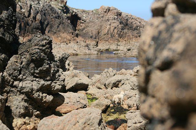 Praia Traba Galizien