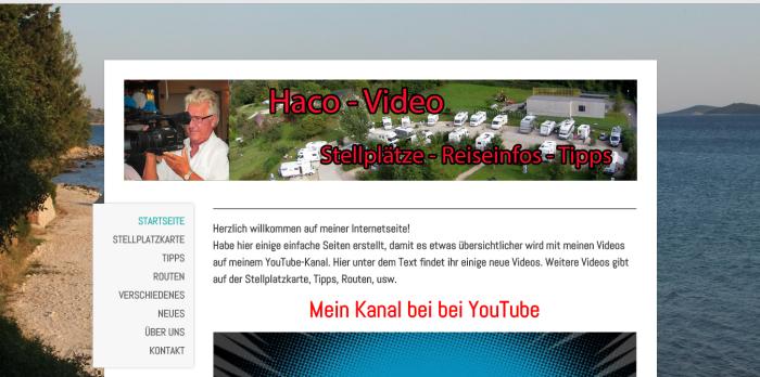 hace-video.de - Stellplätze-Reiseinfos-Tipps